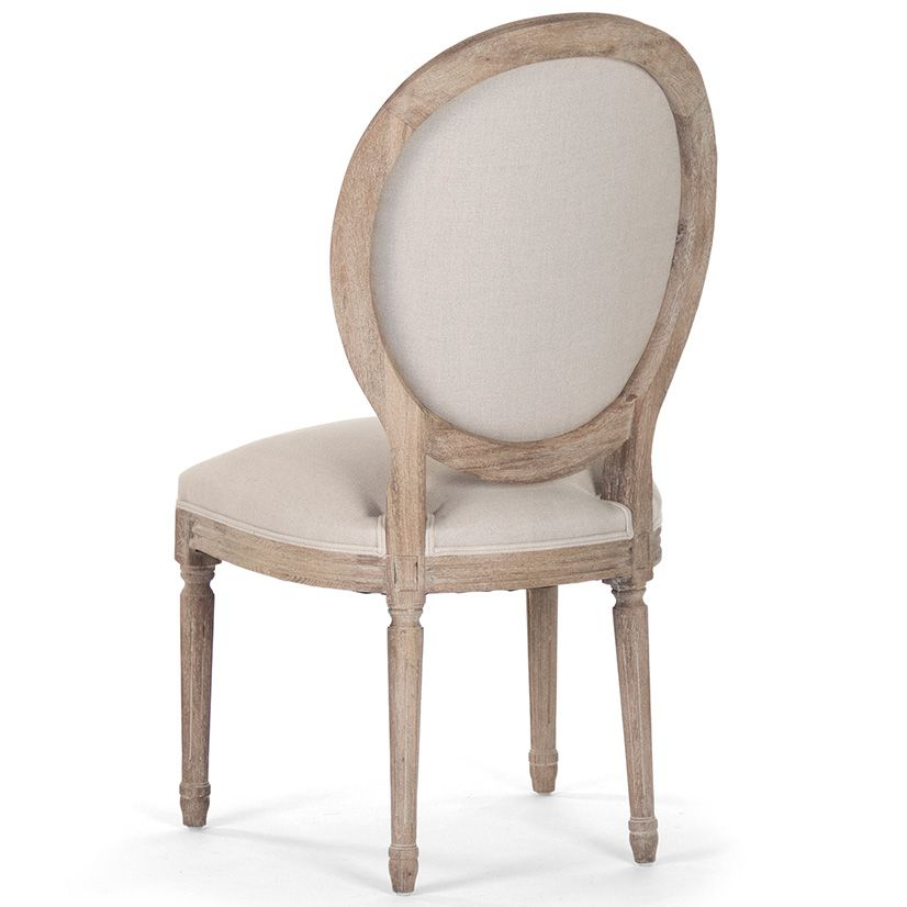 Medallion Limed Grey Side Chair @LaylaGrayce