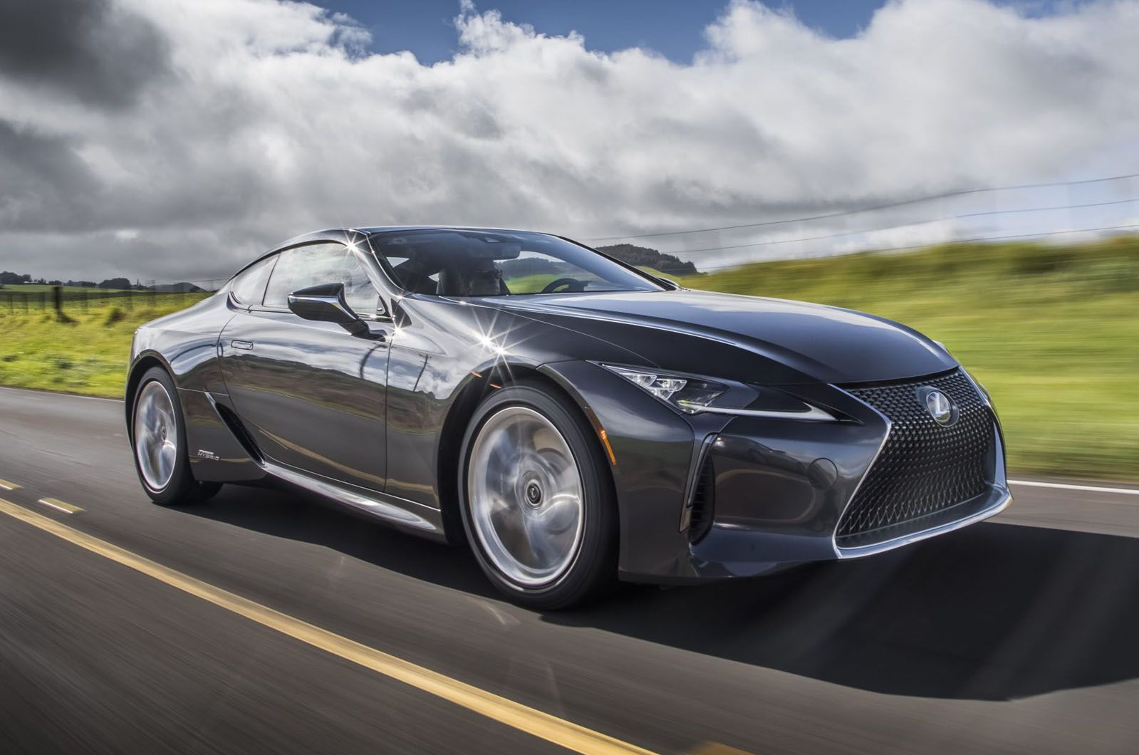 Lexus LC coupe loses weight and gains tech for 2020 https