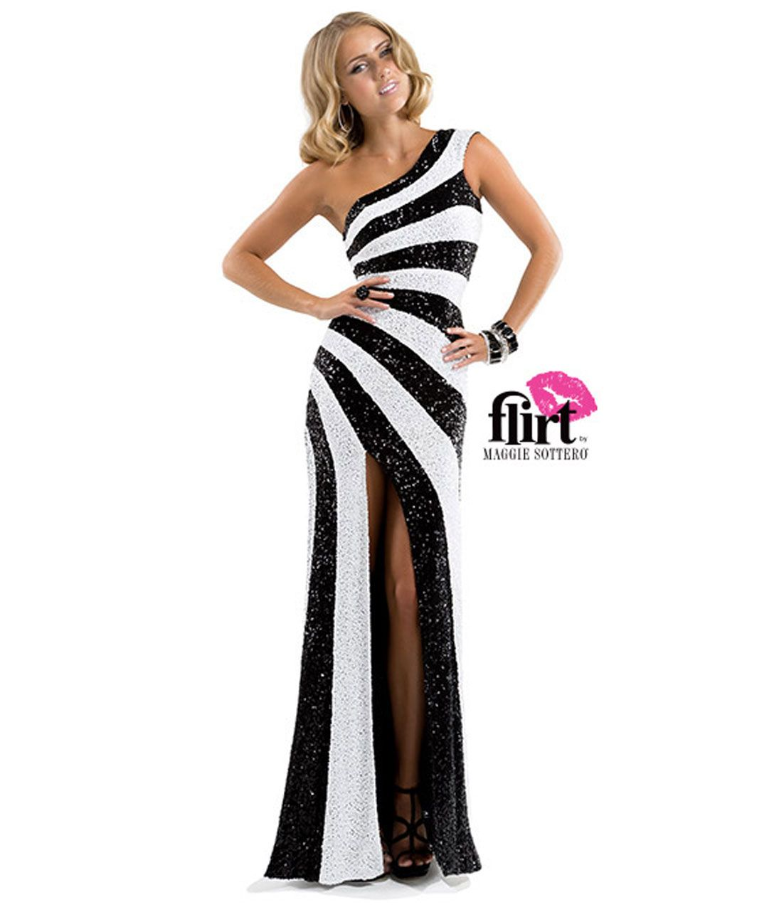 Unique vintage flirting sequins and prom