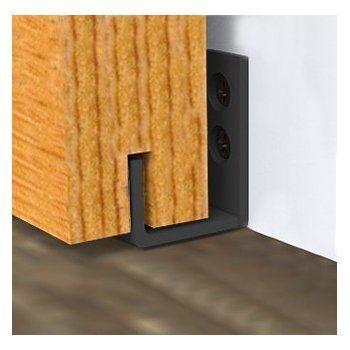 Amazon Com Powder Coated Bottom Guide Stay Roller For Barn Door