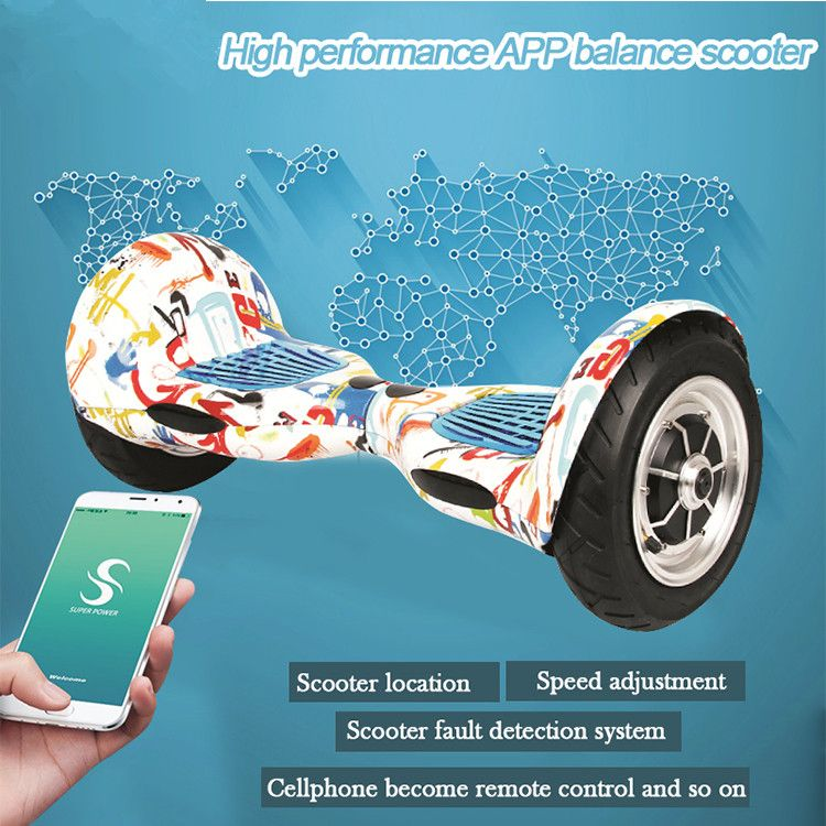 Hoverboard Bluetooth App Aluminum Hoverboard 10 Inch 2 Wheel Electric Standing Scooter Hoverboard Samsung Batte Hoverboard 10 Inch Hoover Board Samsung Battery
