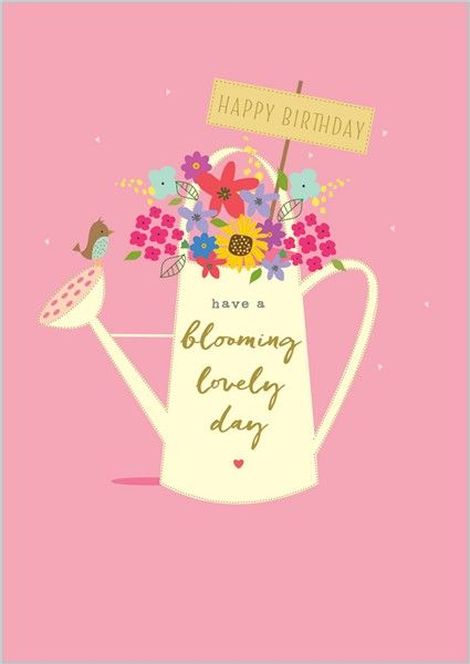 Card Ranges 7994 Blooming Lovely Abacus Cards Greetings Cards Gift Wrap Stationery Happy Birthday Signs Happy Birthday Fun Cool Birthday Cards