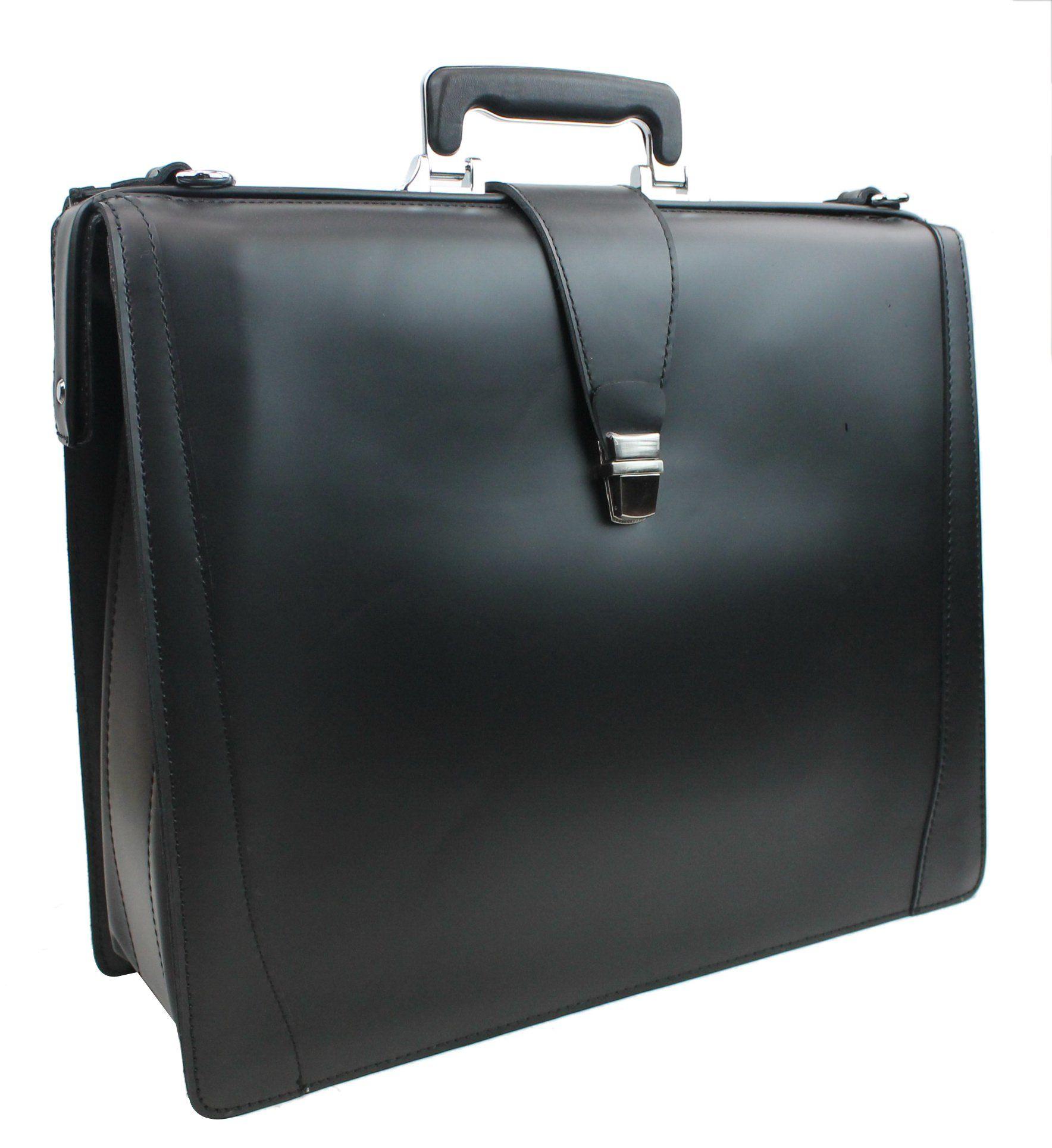 Vagabond Traveler Full Grain Leather Business Pro Case LB10