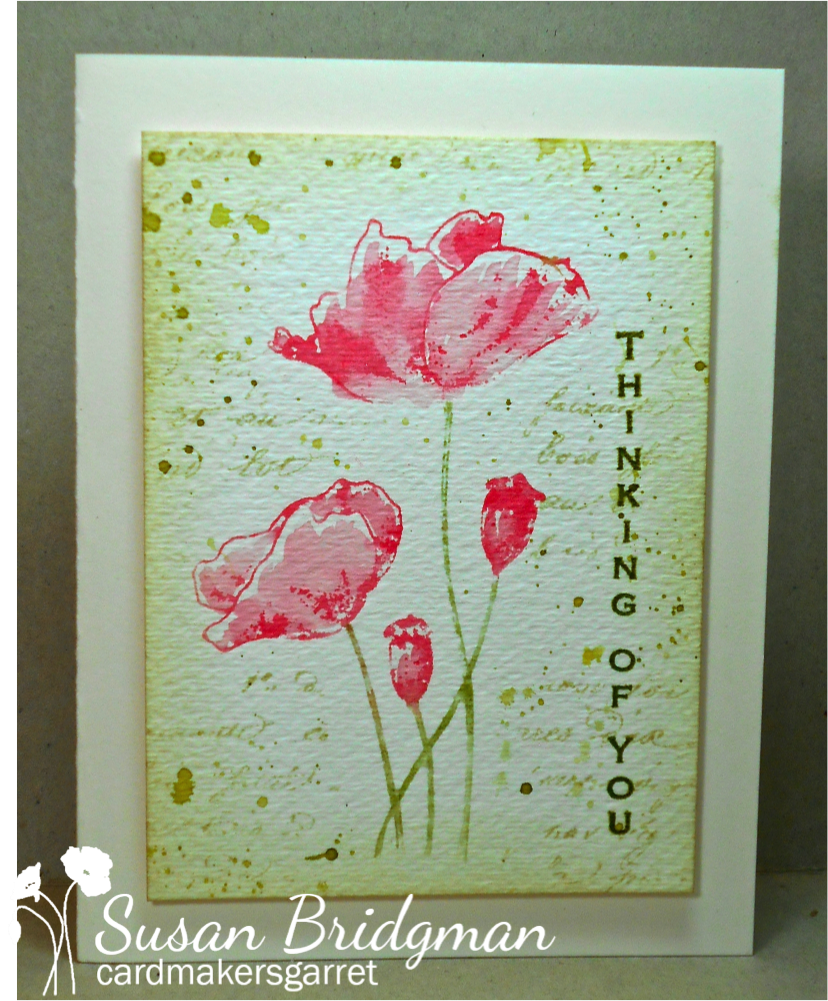 One of the techniques that Loll ( Stamping with Loll ), Christine ( It's a Card Day's Night ), Nancy ( scandinancy creates ), and I did at o...