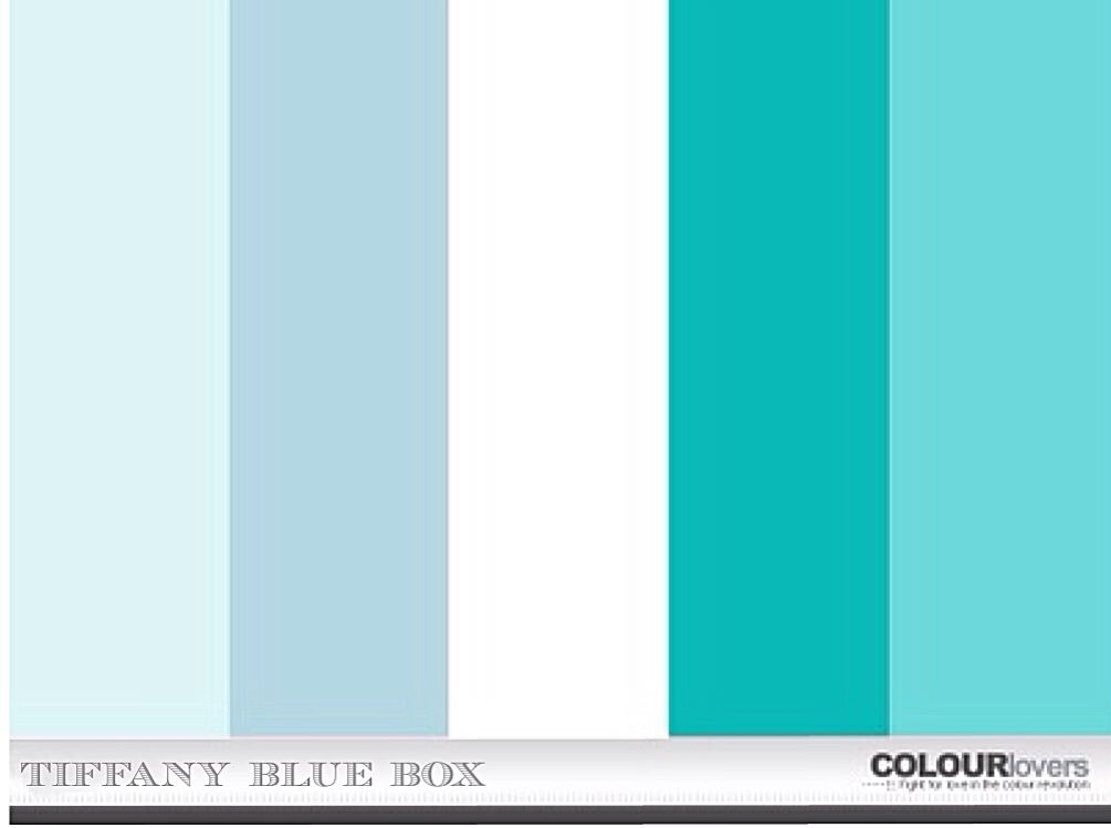 Tiffany Blue Box Swatch Tiffany & Co.   Inspired By ...