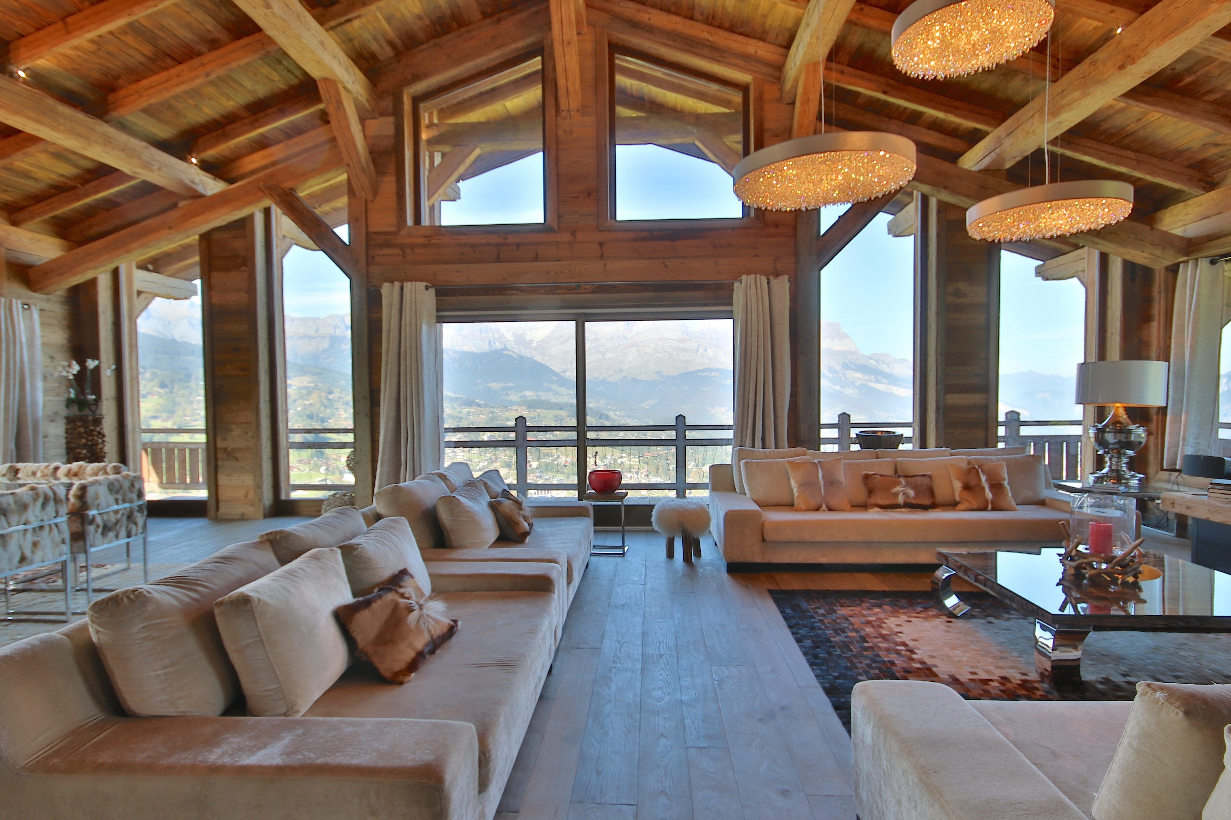 French ski chalet for rent. Luxury catered chalet in Megève ...