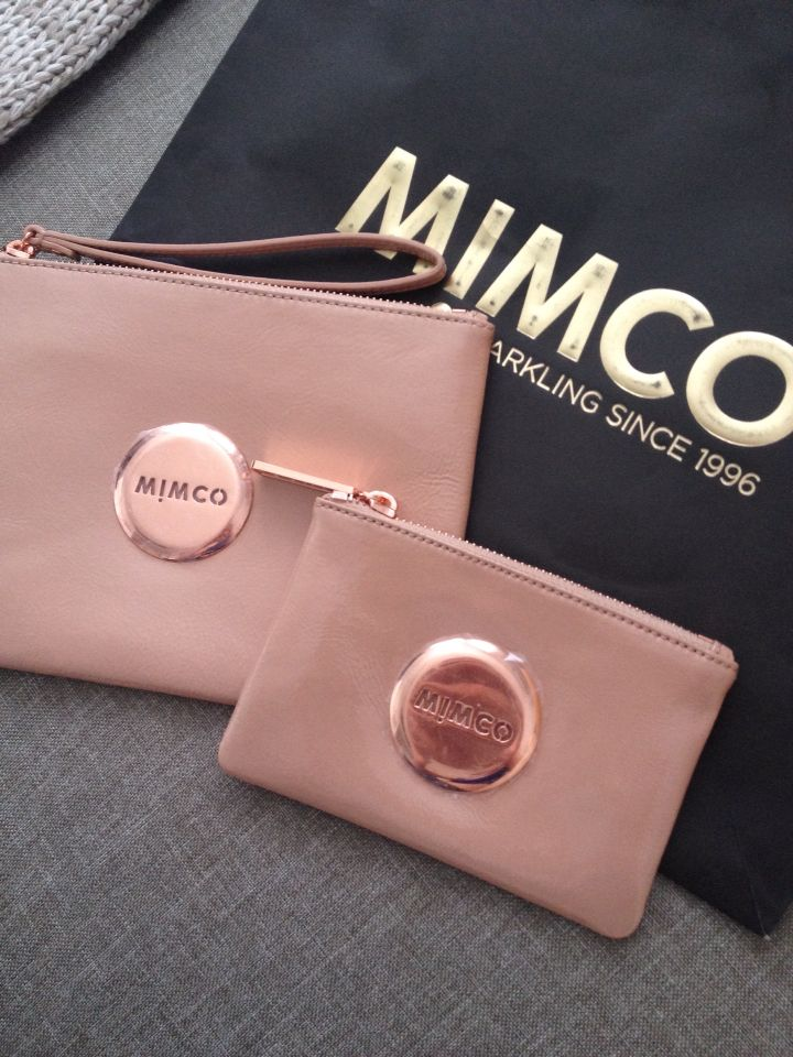New mimco!!! mimco pouch Rose gold fashion, Rose gold