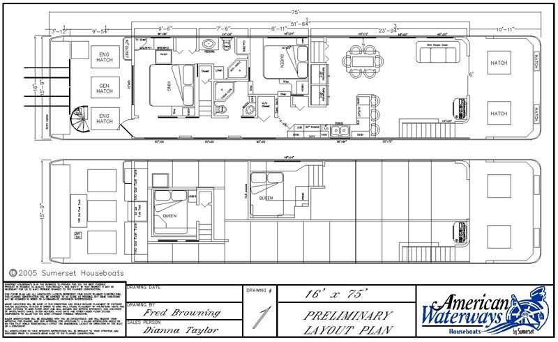 Houseboat Plans Bing Images Building Plans House House Boat