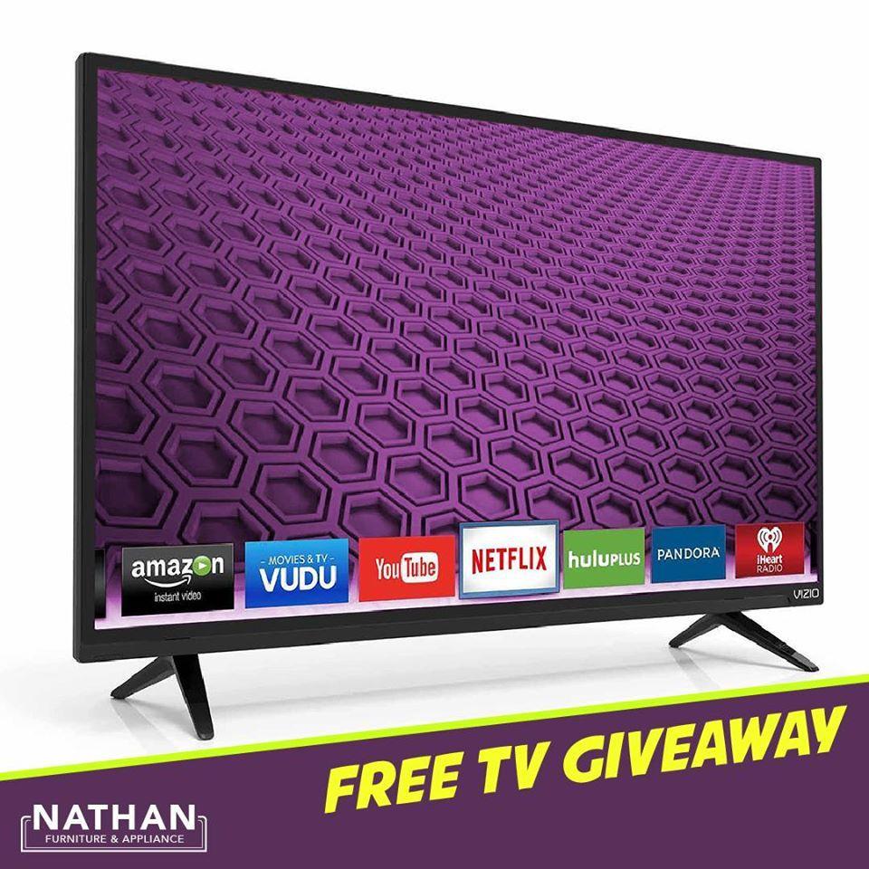 Free flat screen tv giveaways