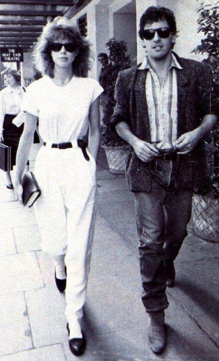 Bruce Springsteen First Wife Julianne Phillips Circa 1985