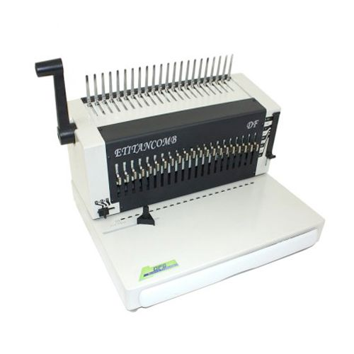 Akiles RubiCoil Plastic Spiral Coil Binding Machine 4:1 Pitch