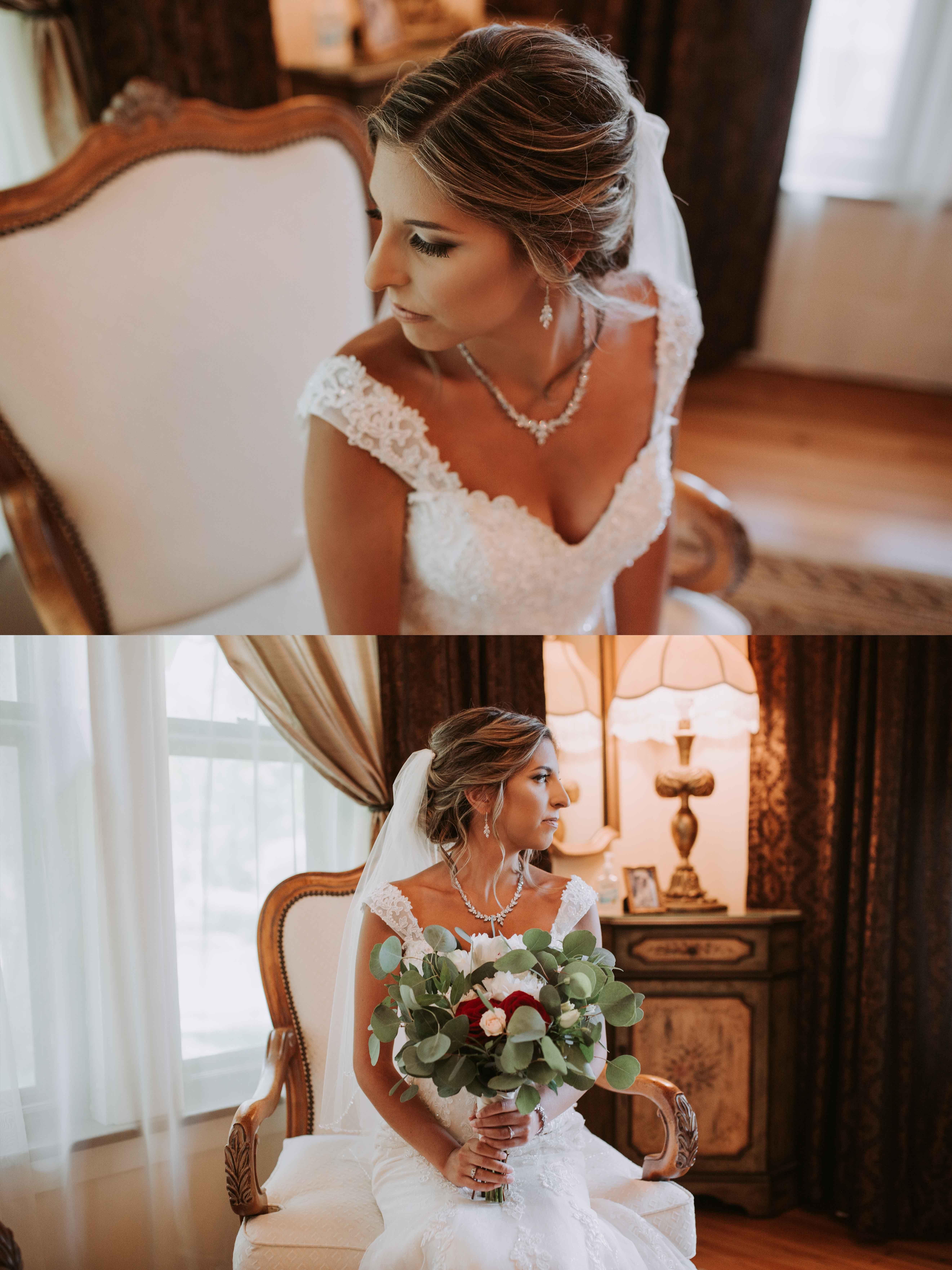 Bride getting ready, bride bouquet inspiration, bridal