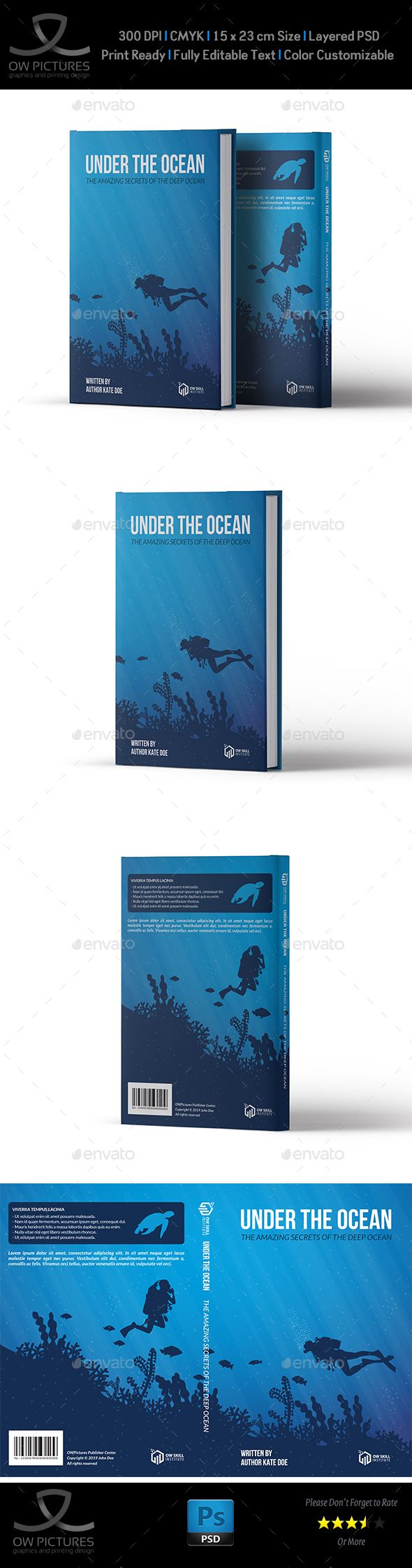 Book Cover Template Vol4 Book Covers Template And Books