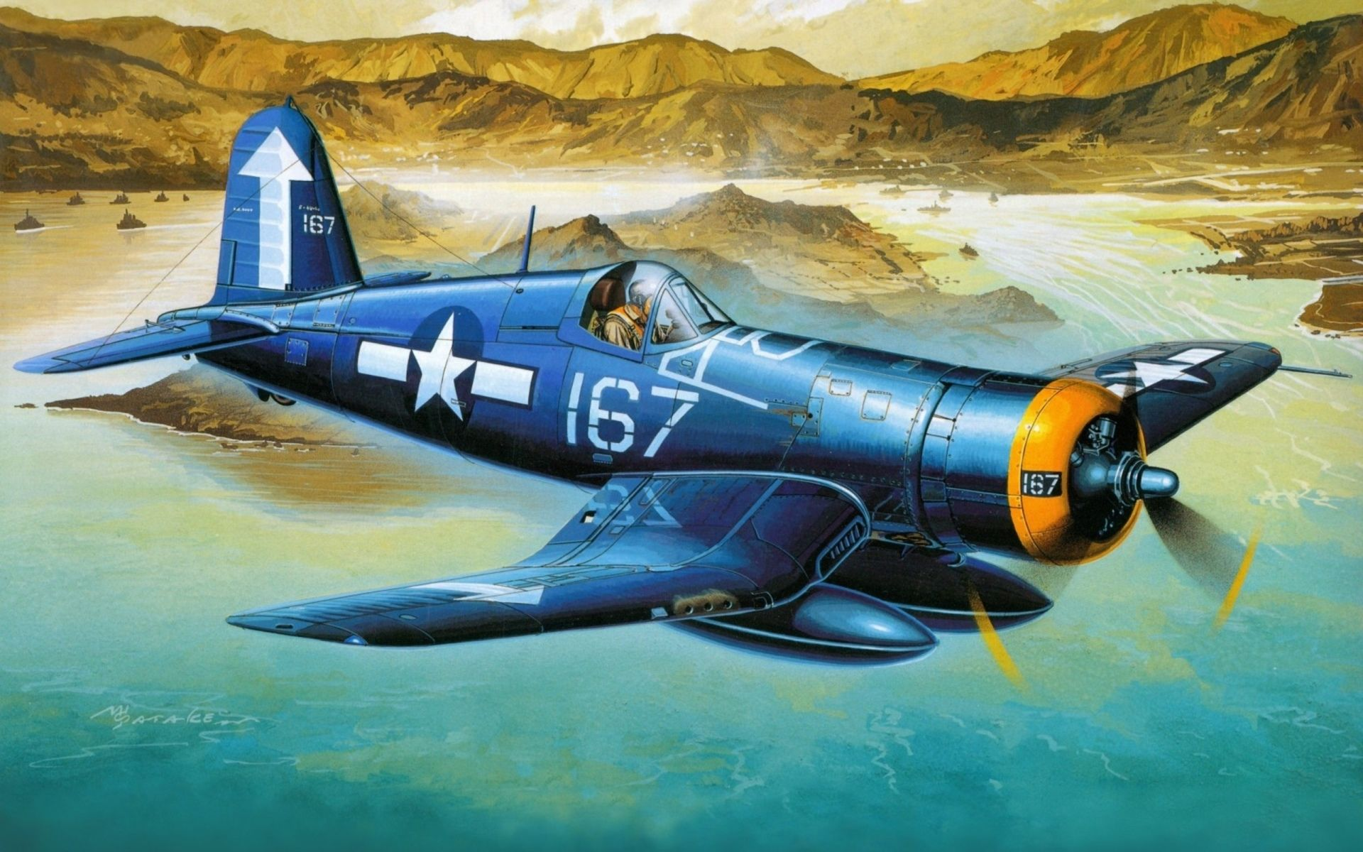 Militaire Vought F4U Corsair Fond d'écran | F4u corsair, Corsaire, Avion militaire