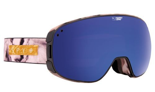 f95e9af85f Spy Optic Bravo Snow Goggles Marbled Rose Happy Rose w Dark Blue Spectra  Lens