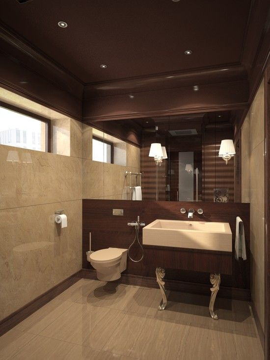 Contemporary Bathroom Vitra Pedestal Sink Design, Pictures, Remodel, Decor  And Ideas   Page