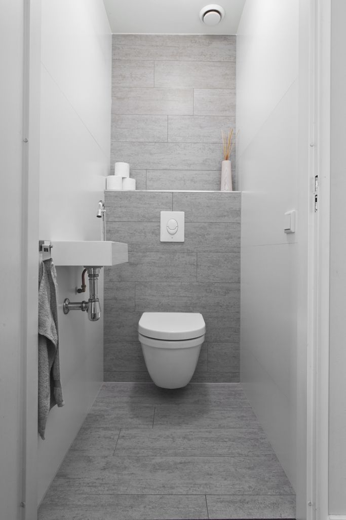 Luxury A place for reading material in the bathroom contemporary bathroom by Boscolo Interior Design Grey Bathroom Idea Picture -  Black White Grey Bathroom Picture