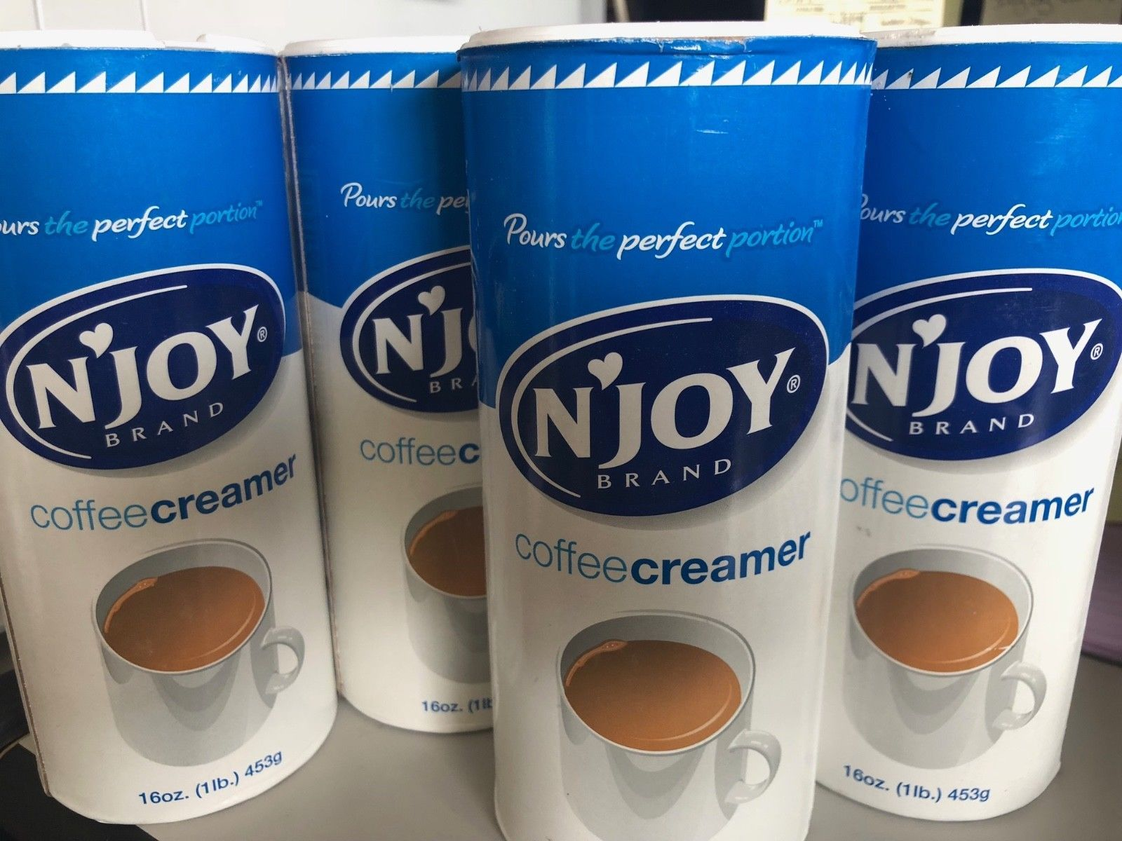 Details about NEW 4 Pack Coffee Creamer 16oz. NonDairy