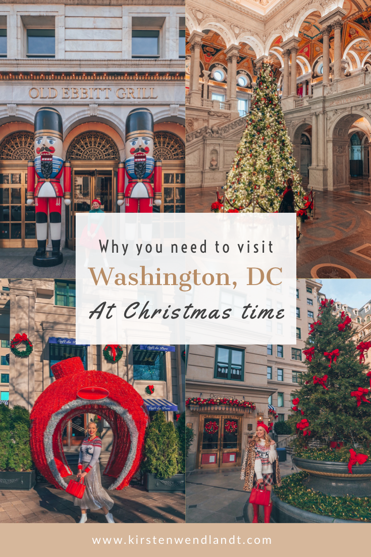 11 Incredibly Festive Things To Do In Washington Dc At Christmas Time In 2020 Christmas Travel Destinations North America Travel Destinations Travel Usa