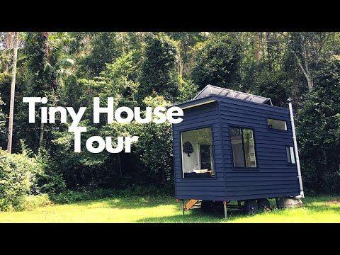 Off The Grid Tiny House Tour Youtube House Tours Tiny