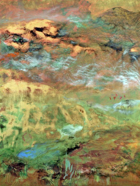 Simple Nancy Reyner Artist Review - Lovely lake painting New