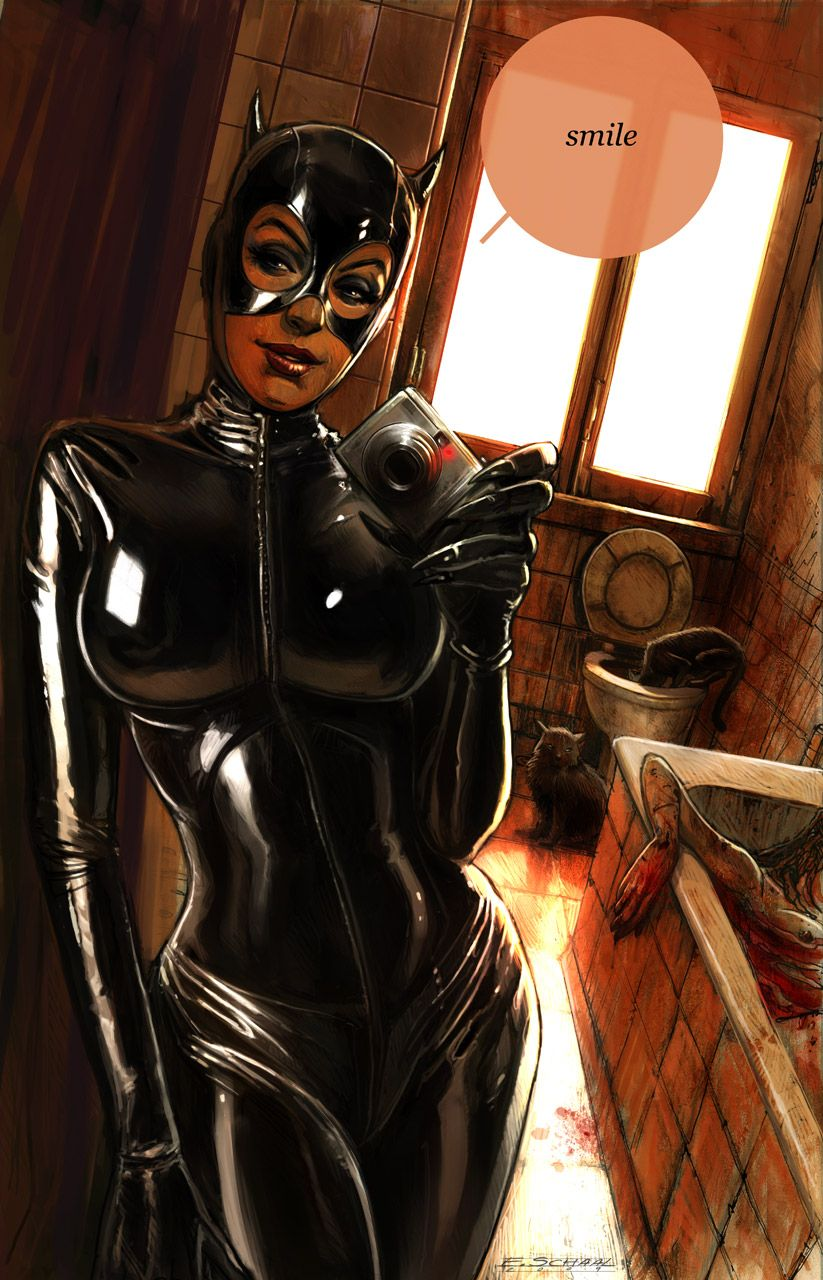 Catwoman - Smile by eschaal