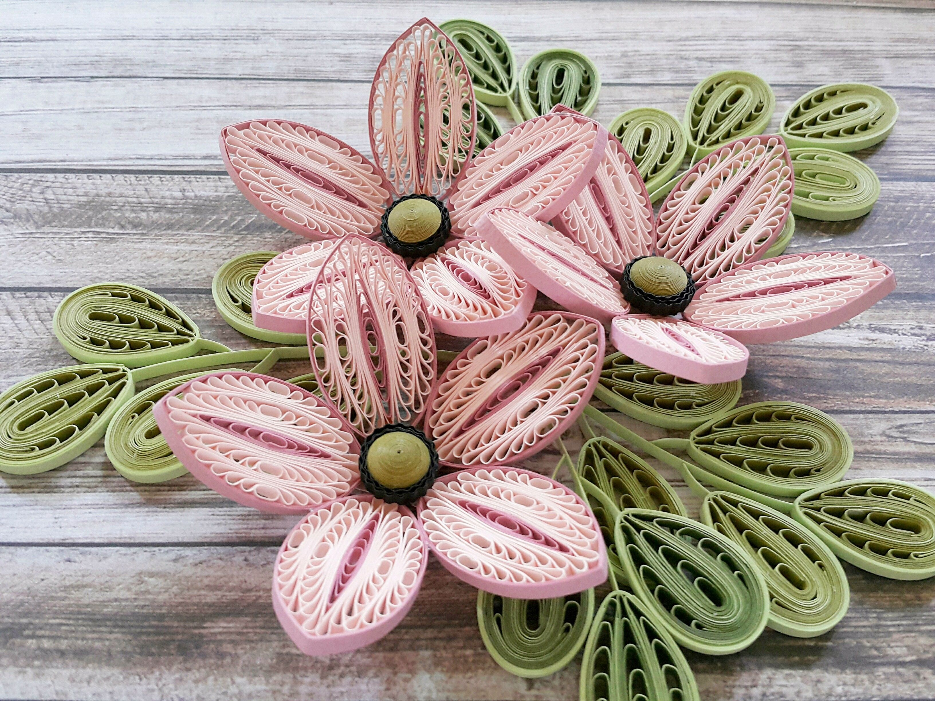 quilling flowers Quilling Pinterest