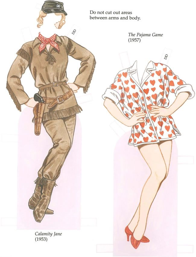 GLAMOROUS MOVIE STARS Of The 1950s Paper Dolls By: Tom Tierney   Dover  Publications SAMPLE