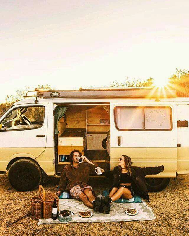 Road trips with friends  How i would love to wake up to this