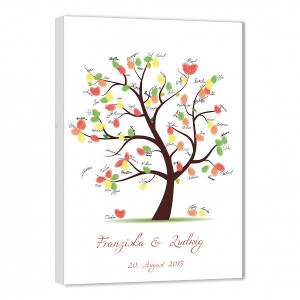 Fingerabdruck Baum Hochzeitsbaum Fingerabdruck Gaste Fingerabdruck Baum Hochzeit Fingerabdruck Leinwand Fingerabdruck Baum