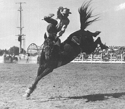 Alvin Hixon, Prineville Rodeo 1947