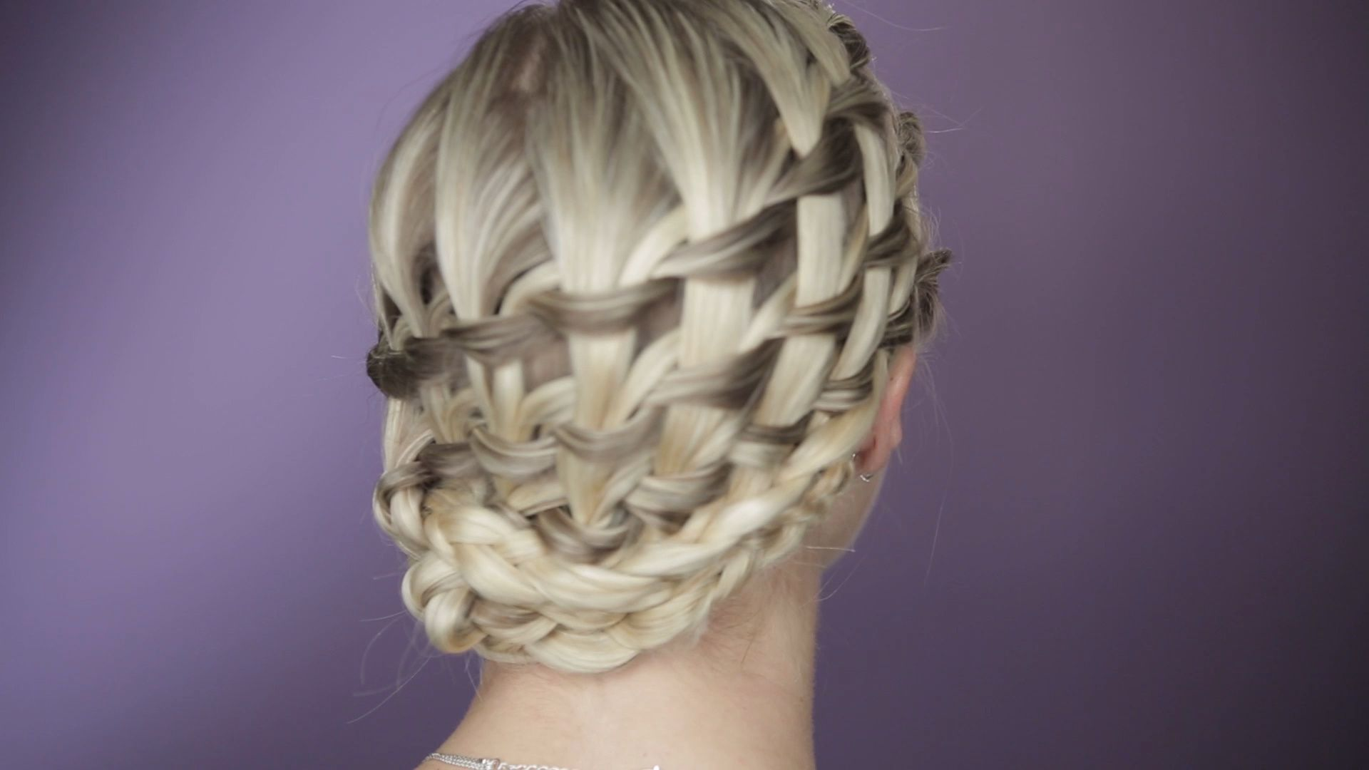 How to Do a Layered Waterfall Braid Celebrity hairstylist Sarah