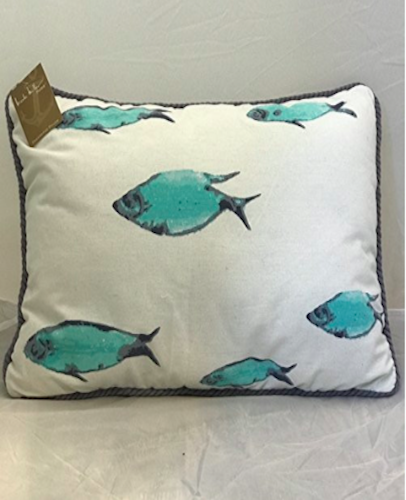 Nicole Miller 40 X 40 Inch Tropical Fish Throw Accent Pillow 40 X Gorgeous Nicole Miller Decorative Pillows