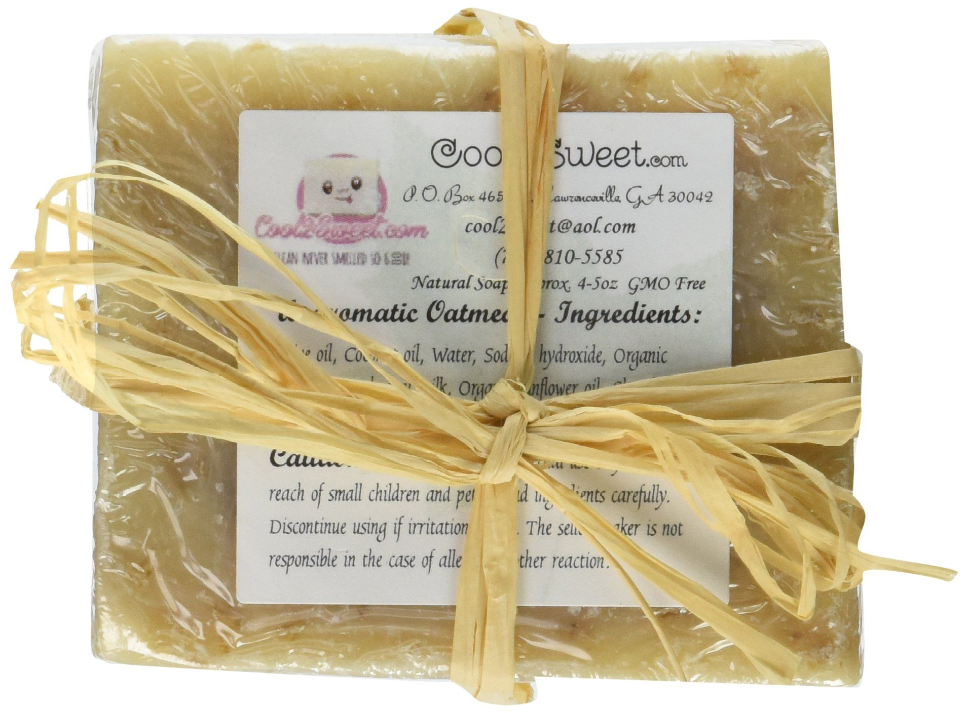 Cool 2 Sweet Soap All Natural Oatmeal Shea Butter Soap