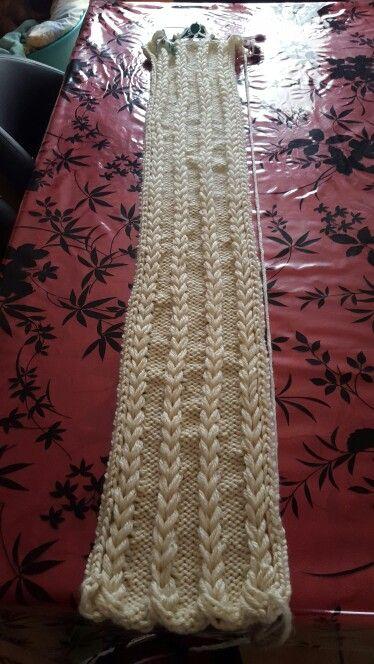 charpe tress e au tricotin circulaire crochet pinterest charpe tress e tricotin et. Black Bedroom Furniture Sets. Home Design Ideas