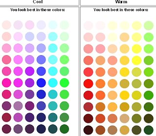 What is my personal color palette? Choose your best colors ... Warm Skin