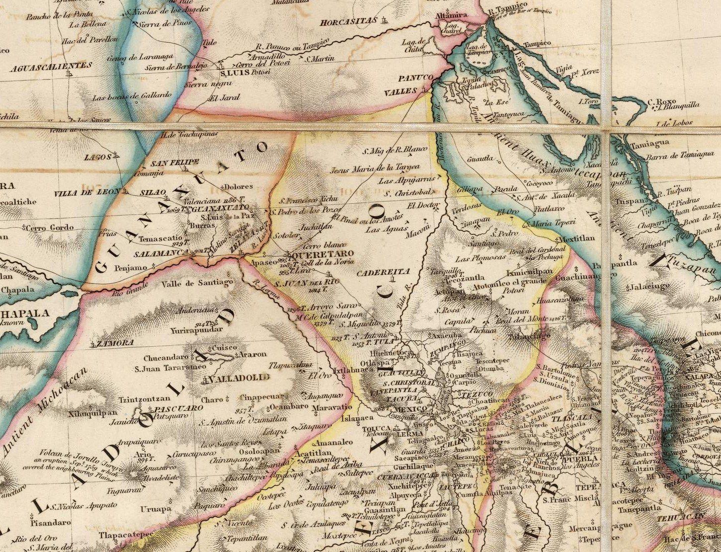 Mapa De Queretaro Qro