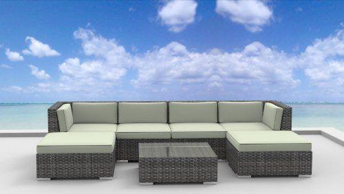 Urban Furnishing MAUI Ultra Modern Outdoor Backyard Wicker Patio