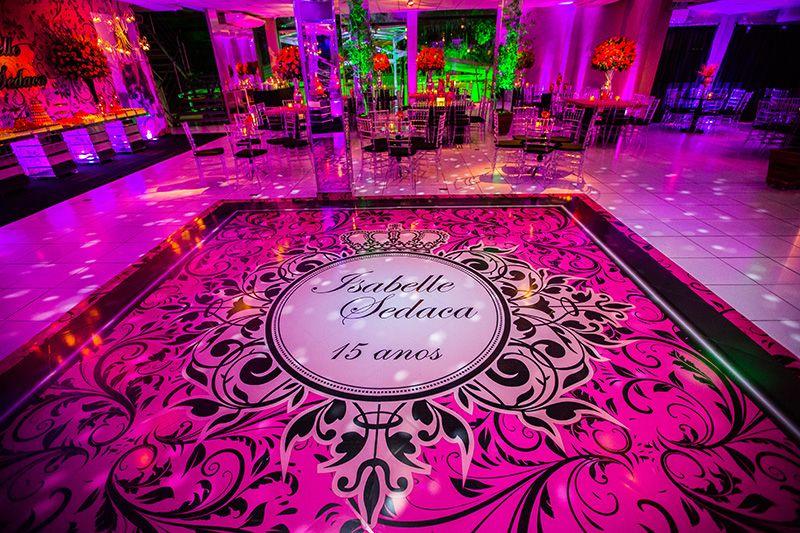 48aa243e5 Festa rosa ♥ Isabelle – Inesquecível Festa 15 Anos | Aniversário em ...