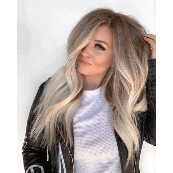 Photo of Shadow Blonde Foilayage – Behindthechair.com