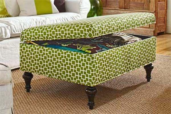 mueble-otomano-para-el-hogar | TUTORIAL BRICOLAGE | Pinterest | Para ...