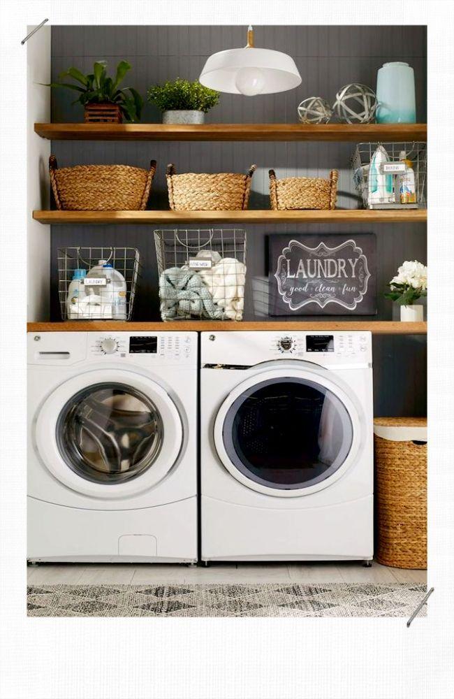 Idées déco pour dissimuler sa machine à laver - MissZaStyle - Blog Déco - #Blog #deco #dissimuler #idees #inspiration #laver #machine #MissZaStyle #Pour #myfuturehouse