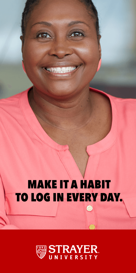 Logging in each day keeps you ahead of your class