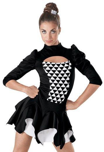 Weissman™ | Neoprene Structured Skirt Dress