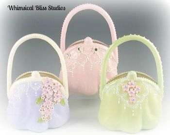 Whimsical Bliss Studios - Lucy's Tall Purse Vases