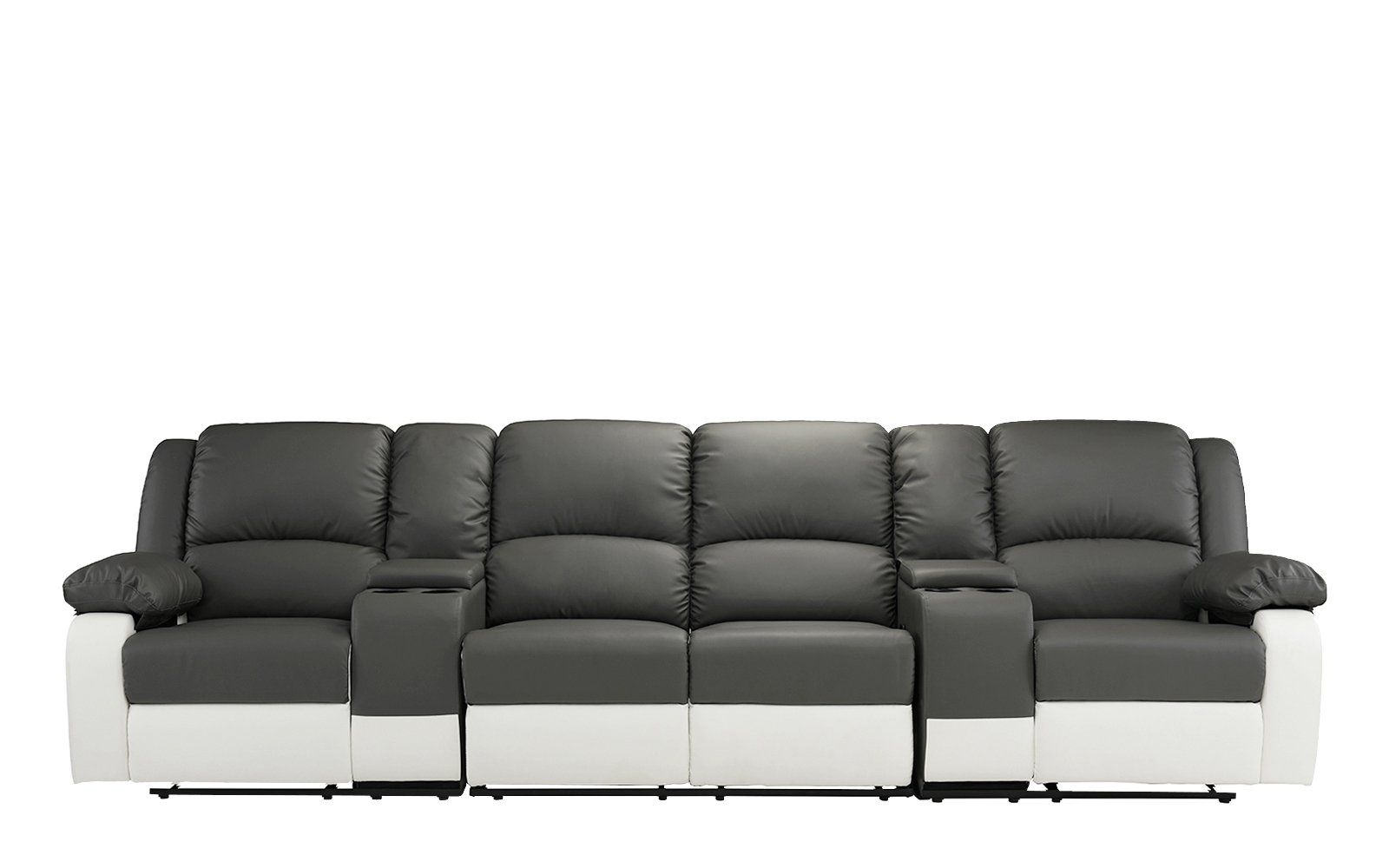 Charmant Heather 4 Seater Home Theater Recliner Sofa