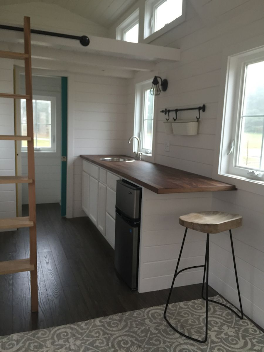 A Tiny House On Wheels In Winston Salem North Carolina Built By Perch