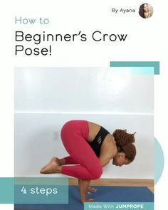 beginner's crow pose  yoga videos for beginners yoga
