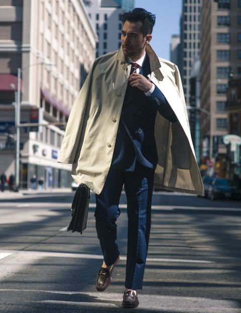 MEN'S SINGLE COAT FASHION