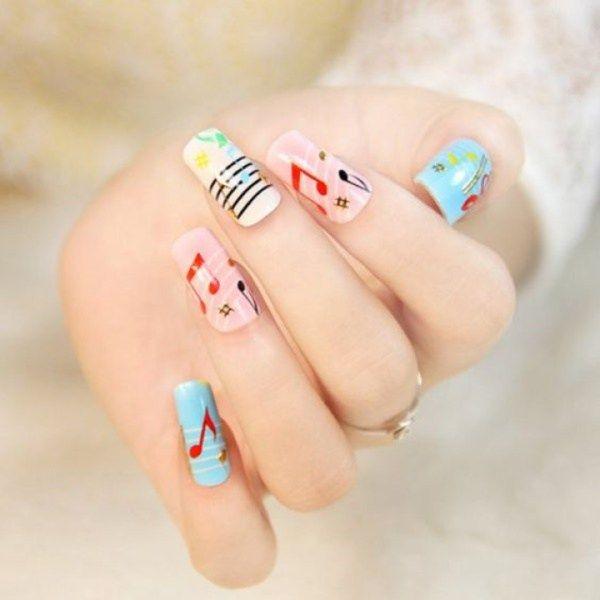 Creative Cartoon Inspired Nail Art Ideas | !! Nails Art ---- Nails ...